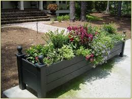 front yard planter box ideas for design