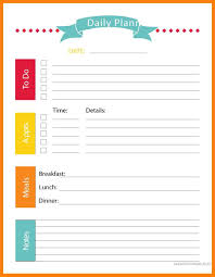 6 Free Printable Day Planner Pages St Columbaretreat House