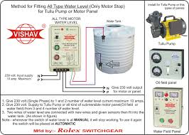 water level controller semi water level fully automatic water click to see installation diagram