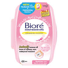 biore kao an makeup remover perfect cleansing cotton wipes