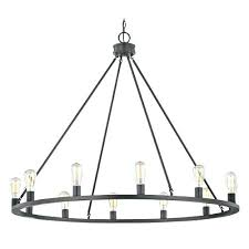 mini chandelier lamp shade black round design classics lighting industrial bronze lam