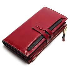 <b>Tauren New Women</b> Wallets Genuine Leather High Quality Long ...