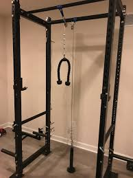 Carabiner Coat Rack DIY Lat Pulldown and Low Pulley on a T100 Rack Album on Imgur 57