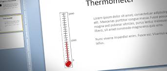 How To Make A Fundraising Thermometer For Powerpoint