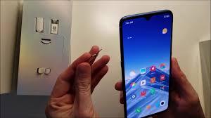 Xiaomi <b>Mi</b> 9 SIM <b>Card</b> How to Insert - YouTube