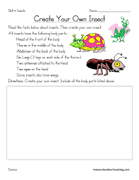 Insect Worksheets   Have Fun Teaching
