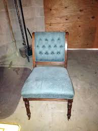value of antique chair with casters on front legs 3 years ago furniture wheels vintage industrial