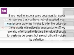 what is a proforma what is a proforma invoice in the uk youtube