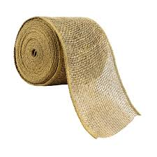 Celebrate It Decorative Fillers Celebrate Itr Occasions Wired Burlap Ribbon