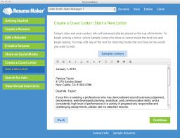 Job Resume Maker ResumeMaker Macware 58