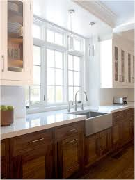 white and wood cabinets. Surfaces For Contrast Backsplashes Countertops Modern Hardware Or Cutout Pulls And The Use Of White Cabinetry Mixed With Wood Cabinets On