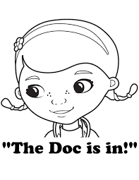 Small Picture Doc McStuffins Coloring Pages Doc McStuffins The Doc Is In
