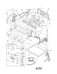 Kenmore dryer motor wiring diagram with simple images
