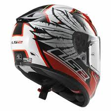 Ls2 Ff323 Arrow Yonny Hernandez Replica Matt White Red Full Face Helmet