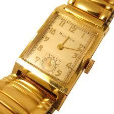 vintage mens wrist watch by bulova solid 14k yellow gold 21 jewels vintage mens wrist watch by bulova solid 14k yellow gold 21 jewels usa