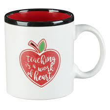 $2.00 coupon applied at checkout. Teaching Is A Work Of Heart Coffee Mug