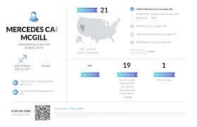 Mercedes Carol Mcgill, (702) 360-4596, 10482 Abbotsbury Dr, Las ...