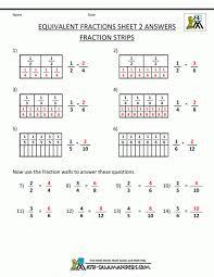 Fractions Worksheets Comparing Math Best Images On Pinterest ...