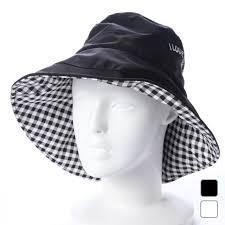 ゴルフウェア 女性 送料無料 パッカブル かわいい レインハット