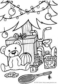 Christmas Toys Coloring Pages Download And Print For Free