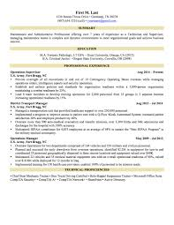 Sample Resume Military To Civilian Sample Resume General 60page 600 Military To Civilian mhidglobalorg 3