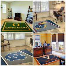 111 best college logo rugs images on retail s basketball court rug