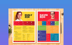 Resume is your first chance to make an impression on a recruiter or hiring manager. 29 Cool Colorful Resume Cv Templates To Stand Out Creatively In 2020