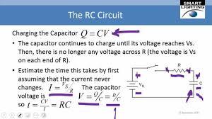 charging and discharging capacitors