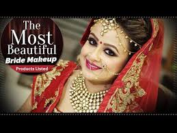 most beautiful bridal makeup tutorial video step by step indian bridal makeup krushhh by konica very womens