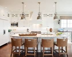 industrial pendant lighting for kitchen. Stunning Eat Around Kitchen Island With Industrial Pendant Light Plus Dining Chair Idea Lighting For