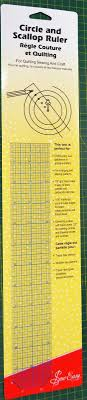 Sew Easy Circle & Scallop Ruler, 18