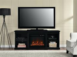 full image for black corner electric fireplace tv stand furniture friday big lots