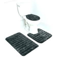 striped bathroom rug rugs stripe bath set in gray blue mat