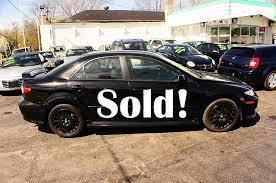 mazda 6 2004 black. 2004 mazda 6 black manual shift 4dr sedan sale used car antioch zion waukegan l