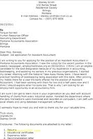 Good Accounting Cover Letter Primeliber Com