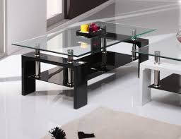 large glass coffee table with glass coffee table set with glass for coffee table