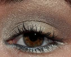 i really wanted to use bobbi brown s pewter chrome eyeshadow and i figured i might as well incorporate her earth metal palette too so i did
