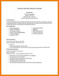 Cv Pattern Undergraduate Student Cv Template Template Business