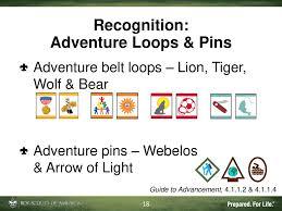 Tiger Advancement Chart Cub Scout Advancement Delivering Adventure Ppt Download