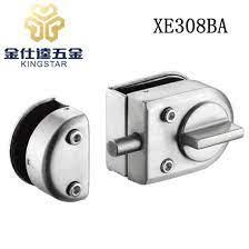 glass door fitting glass door lock with