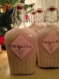 Coquito Bottle Decorations