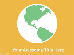 Free Save Earth Powerpoint Templates Myfreeppt Com