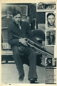 the whole shootin match clyde barrow some of the weaponry that gave hum a huge advantage over the police