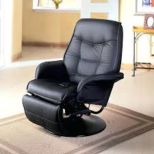 most expensive recliners coaster furniture faux leather swivel recliner chair in black most expensive recliners