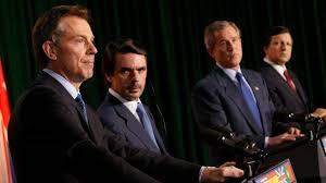 Resultado de imagen para imagen de impunidad de Aznar, Bush y Blair da inmunidad al líder de Daesh'