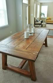Holy Cannoli We Built A Farmhouse Dining Room Table Diy - Dining room tables reclaimed wood