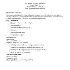 Mechanic Resume Technician Cover Letter Examples Pharmacy