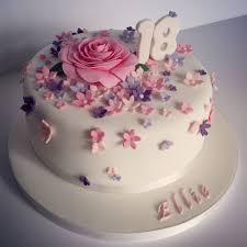 18 Birthday Cakes Pretty 18th Birthday Cake For Pretty Girl 18