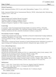 curriculum vitae samples curriculum vitae samples doc format curriculum vitae english example student 5oizzqkj