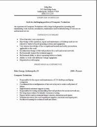 Computer Technician Resume, Templates and Cover Letters plus an Indeed Job  Search Engine to help you in your Job search, 3 different computer  technician ...